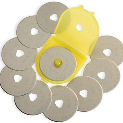 45mm Rotary Replacement Blades 10pk