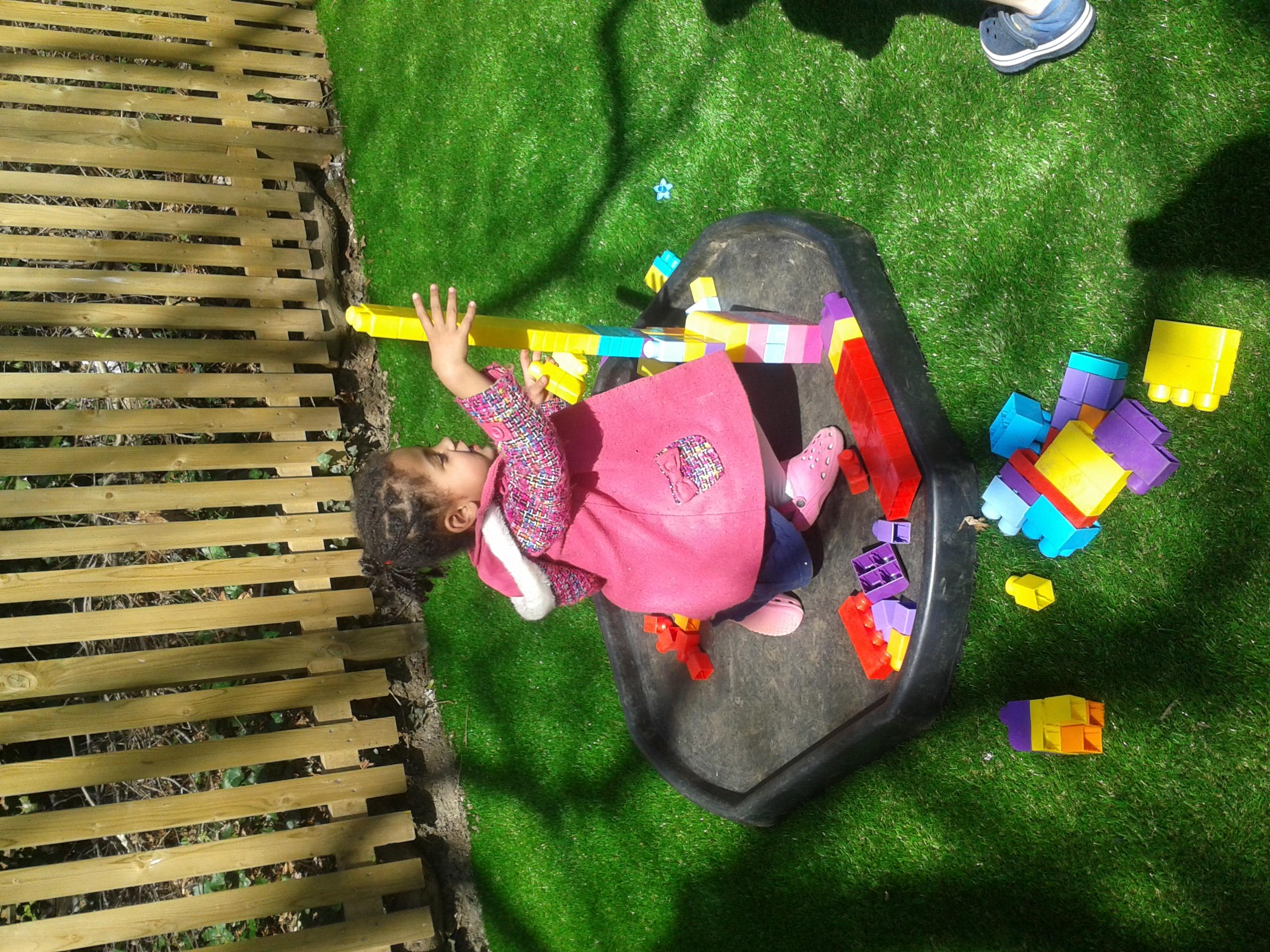 Balancing skills!
