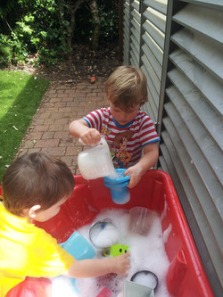 Water & bubbles