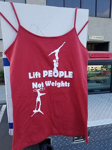 Lift People Not Weights Tank