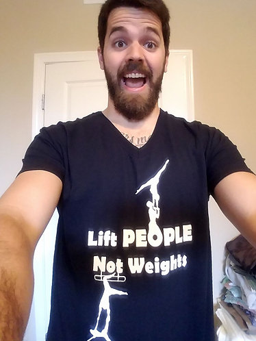 Lift People Not Weights Shirt