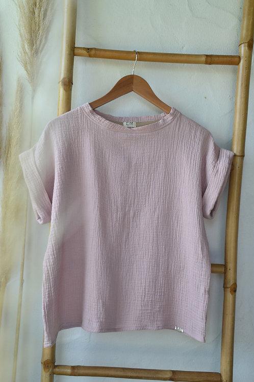 Tee-shirt EMEE rose