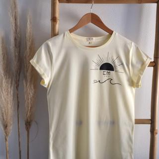 Tee-shirt femme 100% coton bio Summer