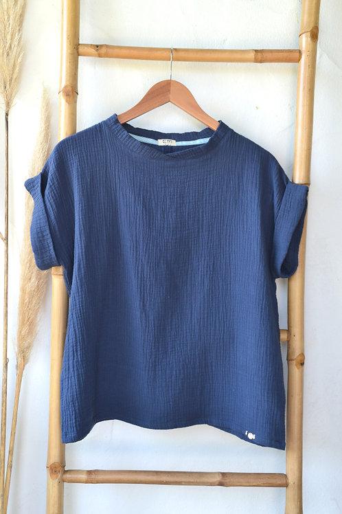 Tee-shirt EMEE bleu