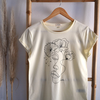 Tee-shirt femme 100% coton bio