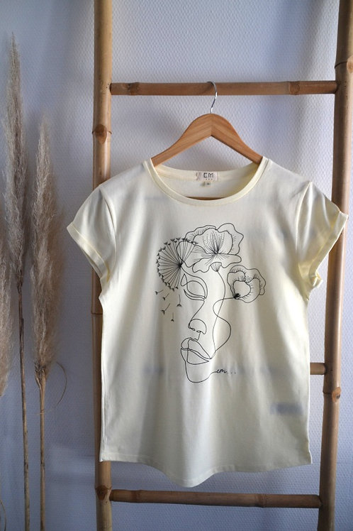 T-shirt coton bio Women