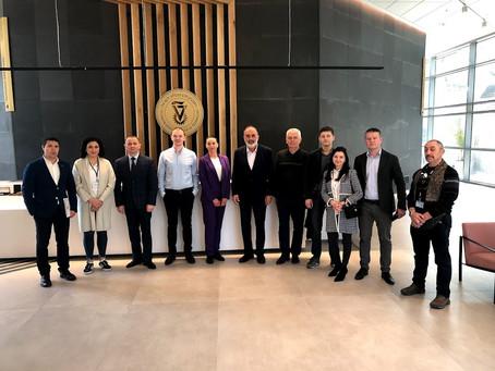 Визит бизнес делегации Львовской области в Хайфу