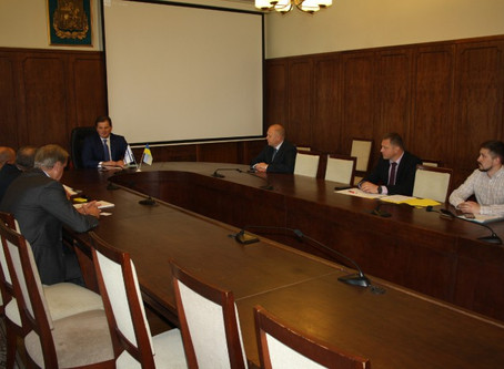 Семинар по агротехнологиям в Киевской областной администрации