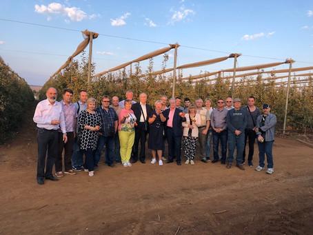 Аграрии Кировоградщины посетили фруктовые плантации на севере Израиля