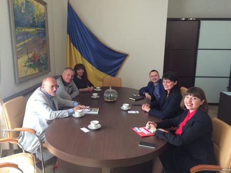 В Министерстве аграрной политике Украины приняли делегацию руководителей Ассоциации