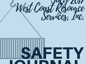 WCRS - Safety Journal July 2017