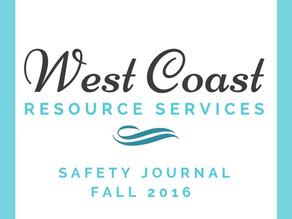 WCRS - Safety Journal Fall 2016 Edition