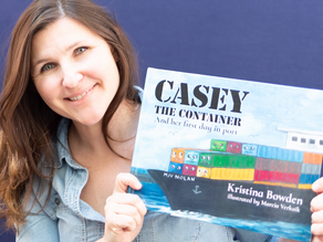 I wrote a children's book: Casey the Container and Her First Day in Port