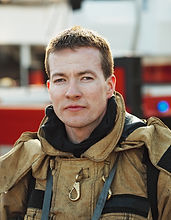 Serious Fireman