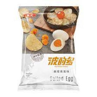 華元 波的多洋芋片-鹹蛋黃風味43g