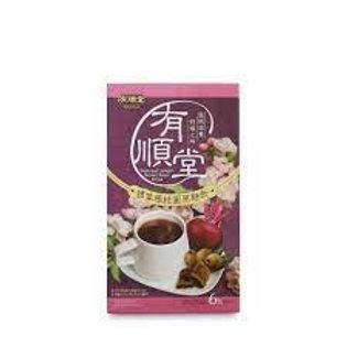 綠得 - [有順堂] 甜菜根桂圓黑糖飲 (6包入)