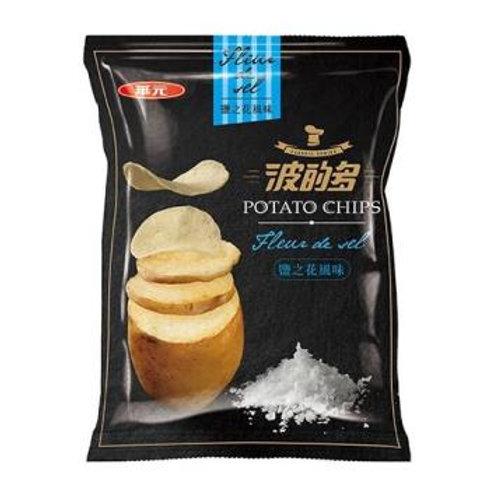 華元波的多洋芋片-鹽之花風味43g