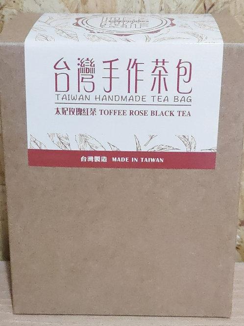 台灣手作太妃玫瑰紅茶包(1盒5包)