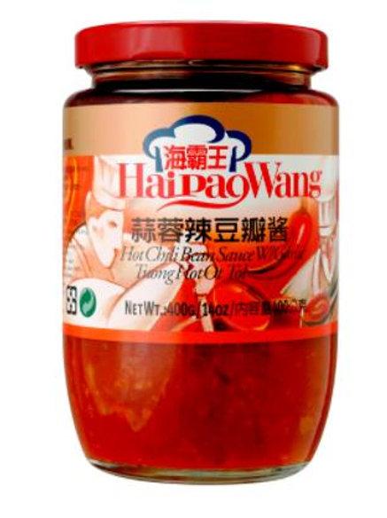 海霸王蒜蓉辣豆瓣醬 240g