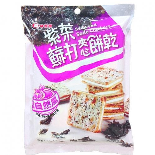 紫菜蘇打餅 144g