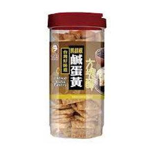 老楊 - 黑胡椒鹹蛋黃方塊酥370g