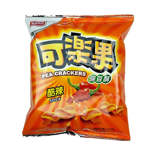 可樂果豌豆酥 (辣味)57g