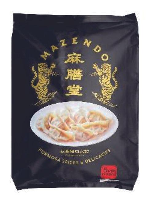 麻膳堂韭黃豬肉水餃