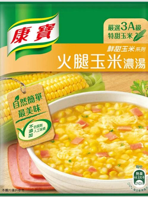 康寶 火腿玉米濃湯 12.4g