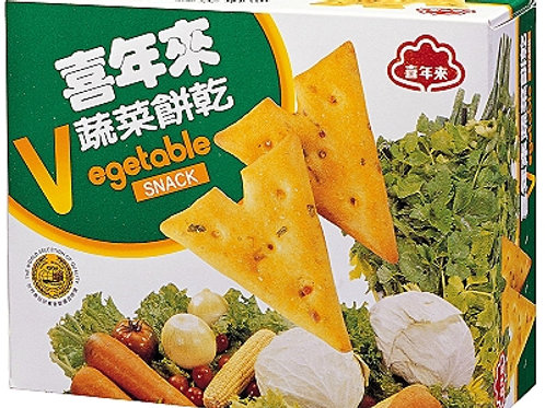 喜年來小國民蔬菜餅 50g