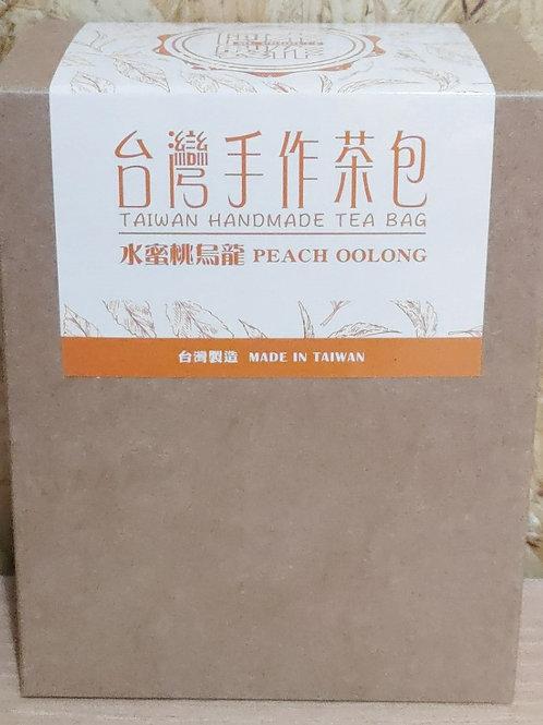 台灣手作水蜜桃烏龍茶包(1盒5包)