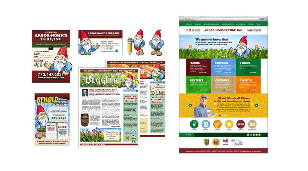 illustration & brand management