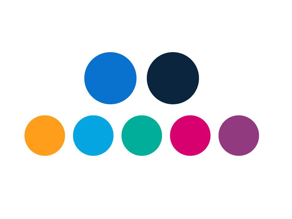 new color palette