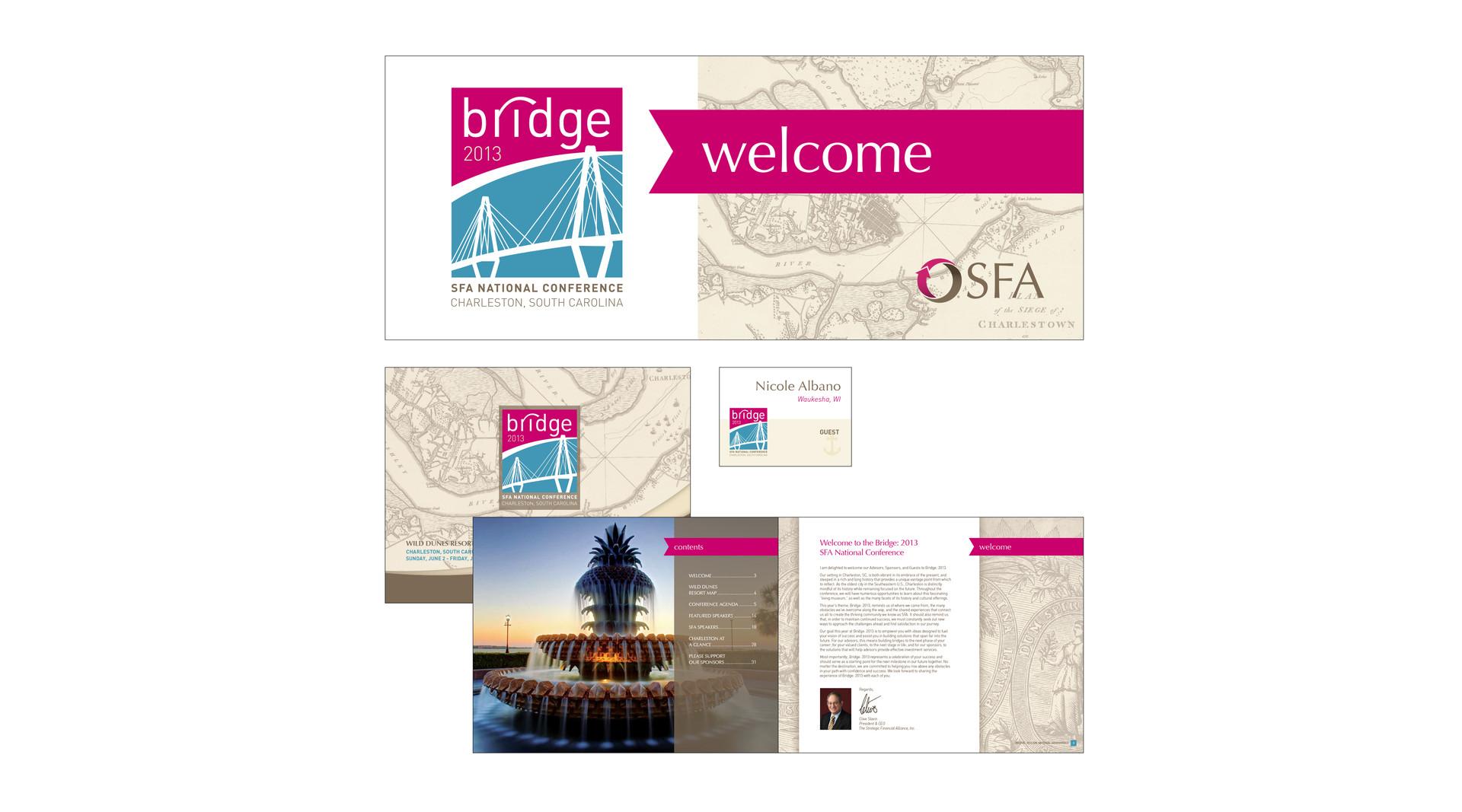 conference design & materials
