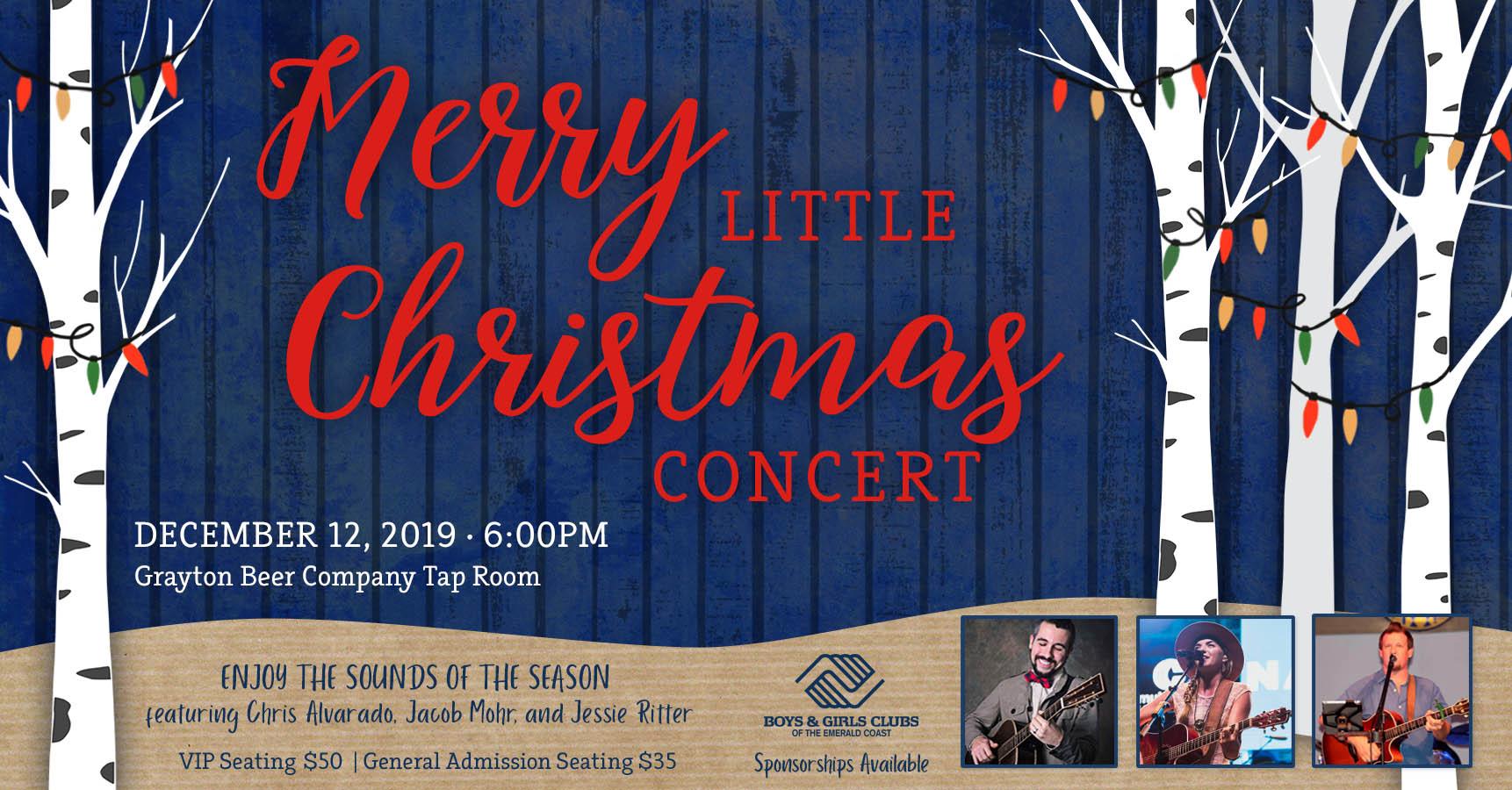 Christmas Concerts 2019 Near Me Merry Little Christmas Concert