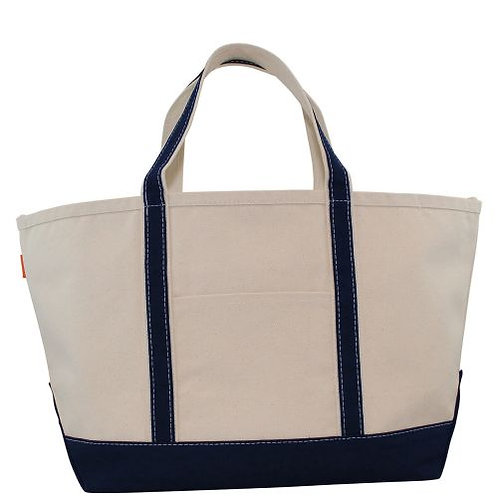 Navy Large Boat Tote