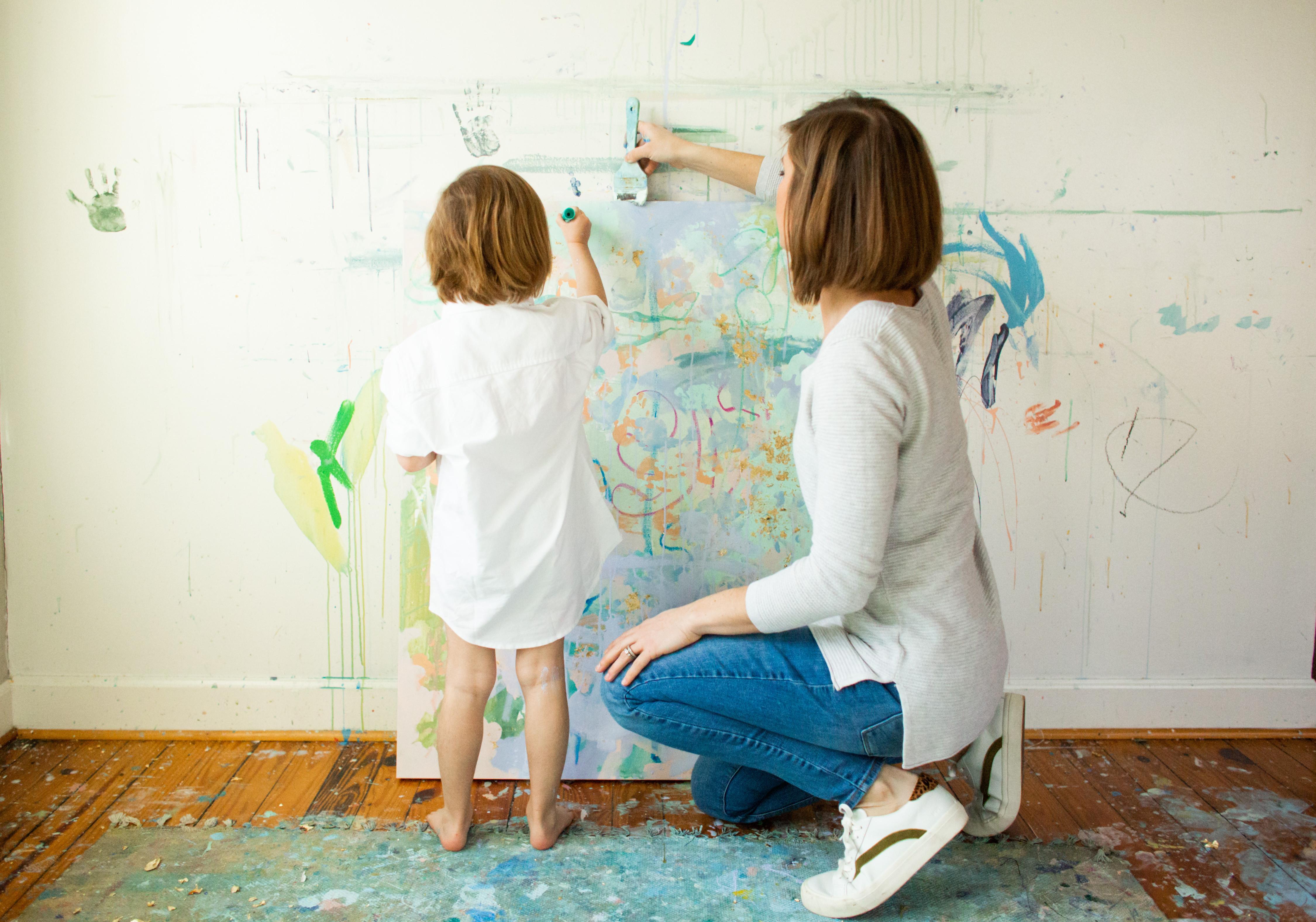 Kid Art Commission: IN STUDIO