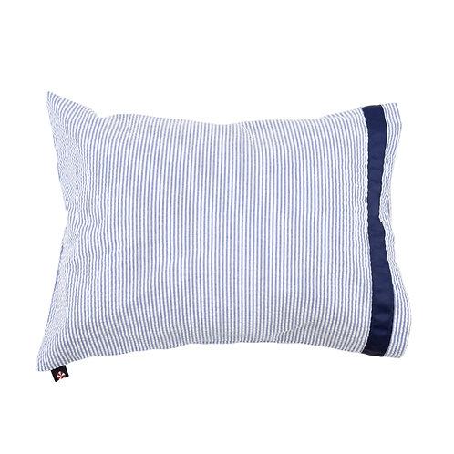 Seersucker Travel Pillowcase