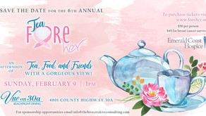 Fore Her announces details for the 6th Annual Tea Fore Her