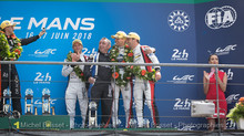 Un podium aux 24 Heures du Mans!