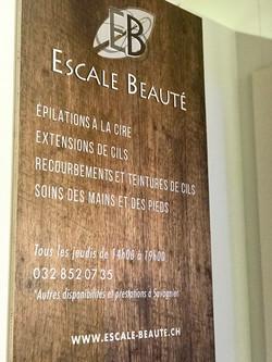 Tableau en bois avec impression