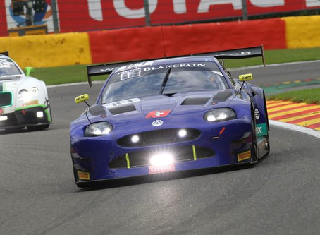 Double finish for Emil Frey Racing at the total 24 hours of Spa