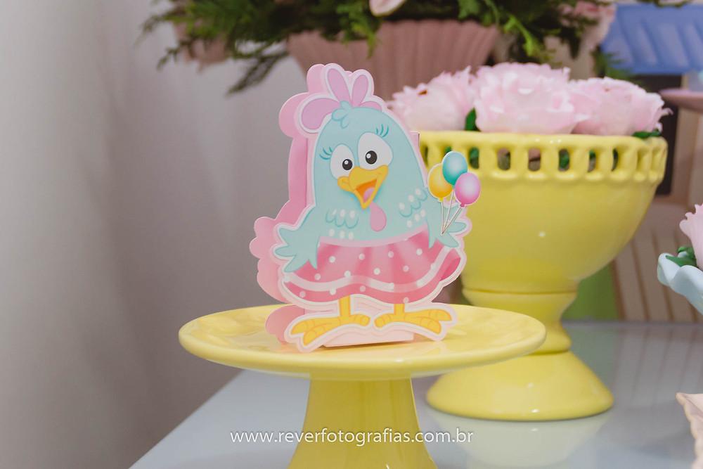 rever fotografias: papelaria personalizado da galinha pintadinha