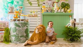 Festa Infantil - Inspiração para Tema Safari:  Fotógrafa em Aracaju