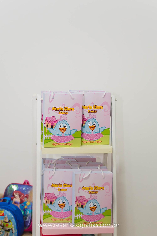 sacolas de lembrança de festa de aniversario  personalizadas