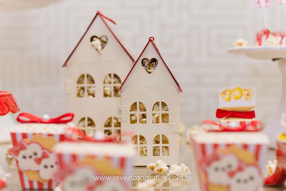 casinha de decoração para festa infantil