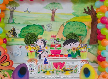 Decoração de Festa: Inspiração com o Tema Show da Luna| Fotografia de Festa Infantil em Aracaju