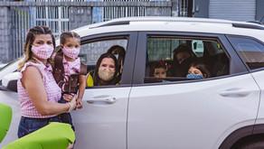 Festa de Aniversário Infantil em Casa: Drive Thru| Fotografia Infantil em Aracaju