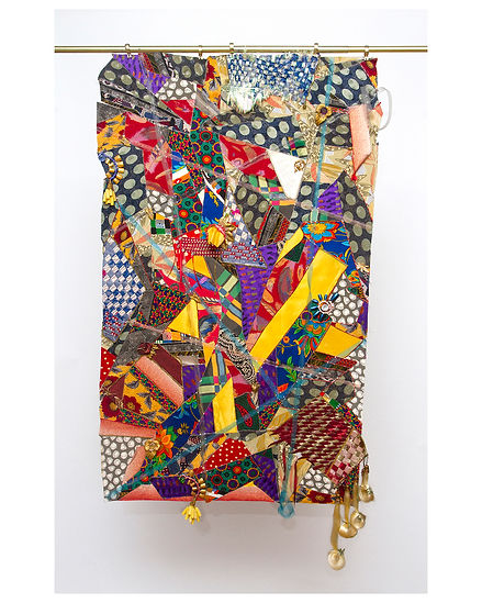 Collage by Sag Harbor artist Jeanelle Myers