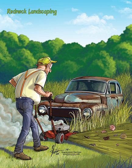 Redneck Landscaping
