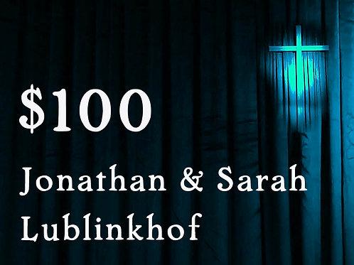Jonathan & Sarah Lublinkhof